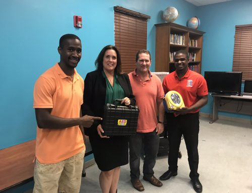 HOTG Gifts Two AEDS to West Palm Beach Police Athletic League