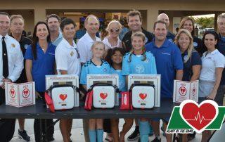 AEDs donated to PBGYAA