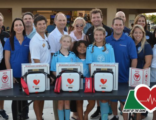 HOTG Donates Three AEDs to Palm Beach Gardens Youth Athletic Association